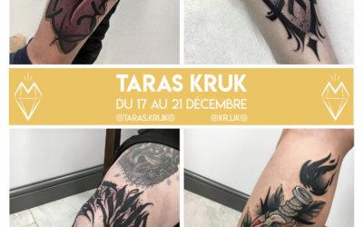 Taras.Kruk – Guest – du 17 décembre au 21 décembre 2019