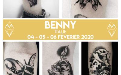 Benny – Guest – du 4 au 6 décembre 2020