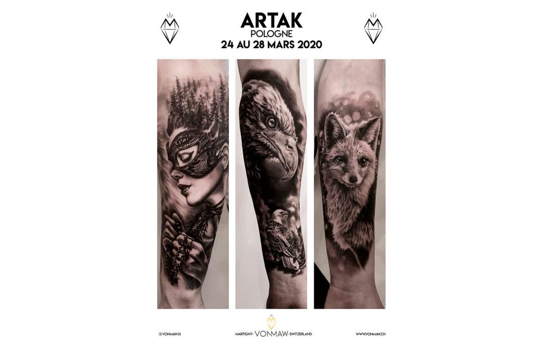 Artak – Guest – du 24 au 28 mars 2020
