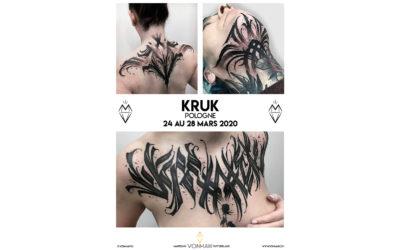 Kruk – Guest – du 24 au 28 mars 2020
