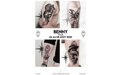 Benny – Guest – du 4 au 8 août 2020