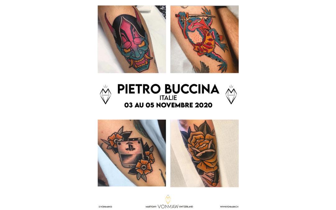Pietro Buccina – Guest – du 3 au 5 novembre 2020