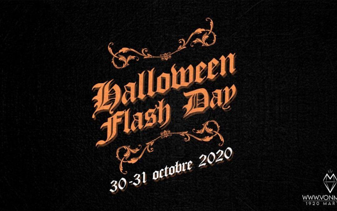 Flash Day Halloween – 30 et 31 octobre 2020