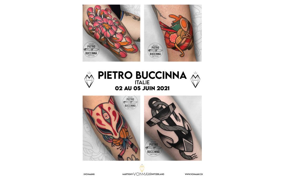 Pietro Buccinna – Guest – du 02 au 05 juin 2021