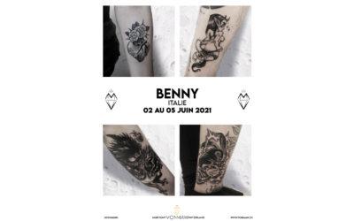 Benny – Guest – du 02 au 05 juin 2021