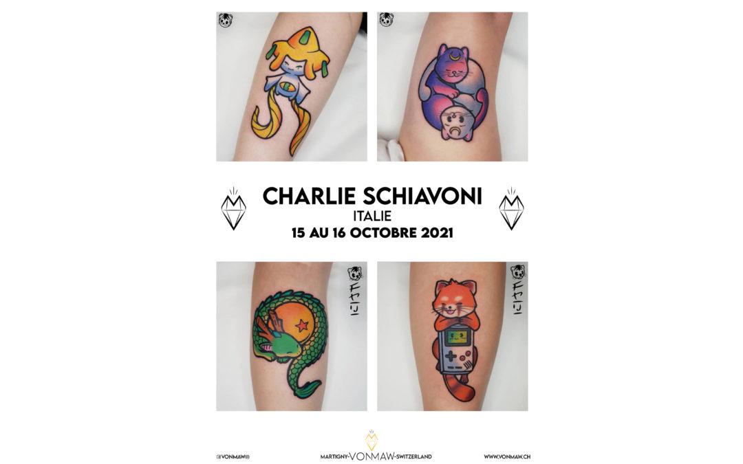 Charlie Schiavoni – Italie – 15 et 16 octobre 2021