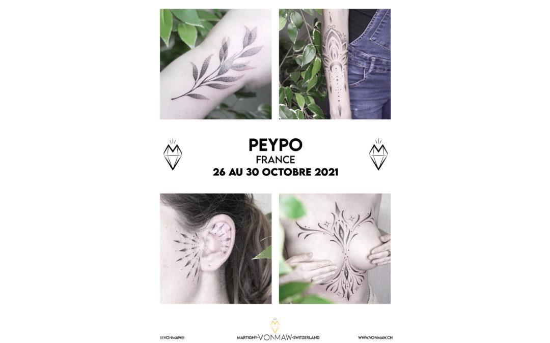 Peypo – France – 26 au 30 octobre 2021